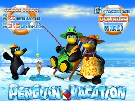 Penguin vacation, Пингвины